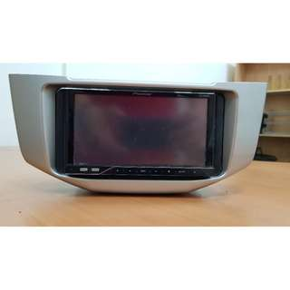 Pioneer AVH - P 4250 DVD with panel for Toyota Harrier 2.4