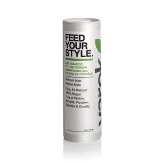 FEED YOUR STYLE DRY SHAMPOO STYLING POWDER 0.5 OZ (ORGANIC)