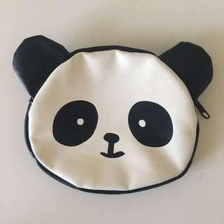 Panda makeup bag