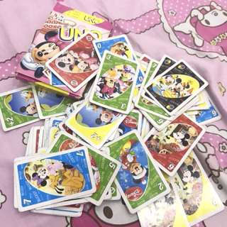 UNO CARD MINNIE MOUSE EDITION