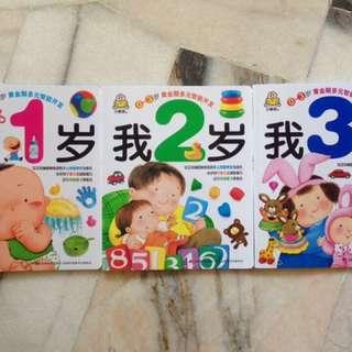 0~3岁黄金期多元智能开发(我1-3岁)(套装共3册)