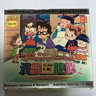 6VCD•30% OFF GREAT CNY SALE {DVD, VCD & CD} ORIGINAL JAPANESE ANIMATION 元氣五胞胎3 Let's Go QUINTUPLETS!! Dialogue : Japanese & Mandarin Subtitles : Chinese - Vol.03 6VCD