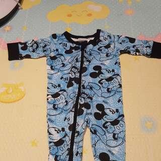 Disney Baby romper (blue, 3 months).