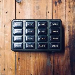 七十年代朱古力鐵盒的士錢箱