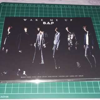 BAP ' Wake Me Up' Japan album