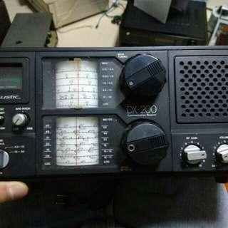 Hallicrafters 短程波膽收音機最後一批於1954年出產