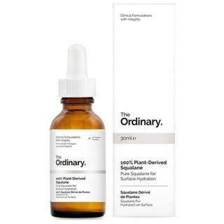 AUTHENTIC The Ordinary Plant-Derived Squalane