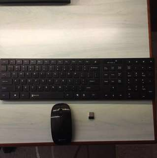 Ranger Ultra Slim Wireless Keyboard and Mouse