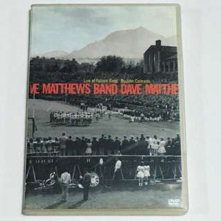 1DVD•30% OFF GREAT CNY SALE {DVD, VCD & CD} Live at Folsom Field Boulder Colorado 7/11/01 By DAVE MATTHEWS BAND - DVD
