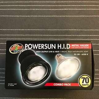 Zoo Med 金鹵燈套裝 70W - Power Sun H.I.D