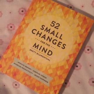 PRICE DROP - 52 Small Changes for the Mind