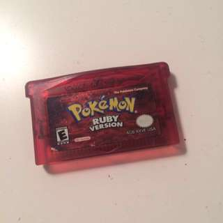Pokemon Ruby for GB - PRICE DROP