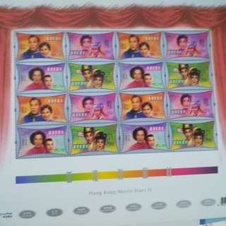 HK Movie Stars Special Sheet Release