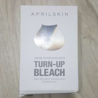 BNIB April Skin Turn Up Bleach