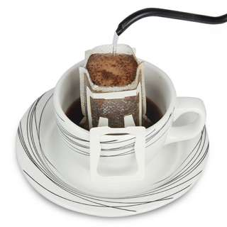 Hanging drip coffee filters