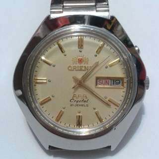 (Reserved)ORIENT AAA Automatic watch  bezel 37mm 21 jewels Crystal Glass