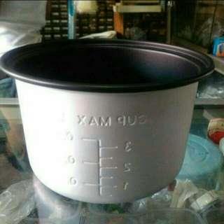 Teflon miyako rice cooker 0,6 L