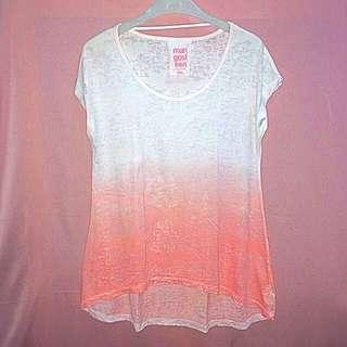 Mangosteen white peach T-shirt