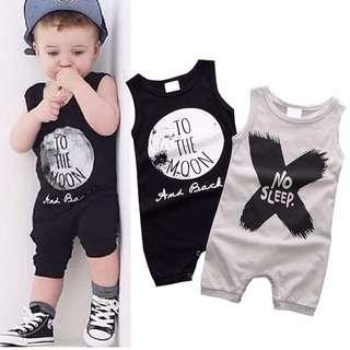 Summer Newborn Kids Babies Romper Jumpsuit Bodysuit