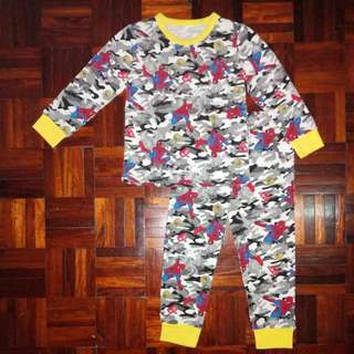 (Ready Stock)Kids Pyjamas long sleeve set