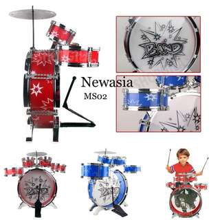 ORIGINAL✅ Kid Drum Set Musical Studio Playset Learning