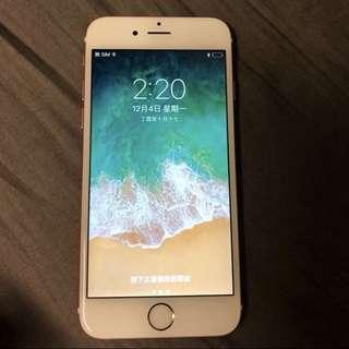 iPhone 6s 粉紅 攻瑰金 rose gold