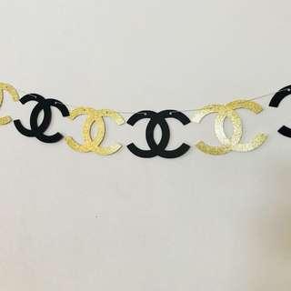 Chanel banner inspired