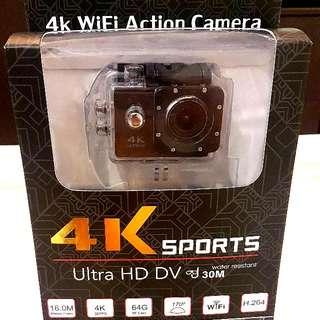 Sport Action Camera/PC Webcam 4K Wi-Fi Ultra HD For Sale .Ready Stock