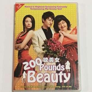 1DVD•30% OFF GREAT CNY SALE {DVD, VCD & CD} 200 磅美女 Pounds Beauty - DVD