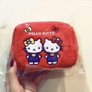Hello kitty伸縮票夾零錢包