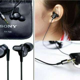 Headset Sony MDR EX-700 Super Bass