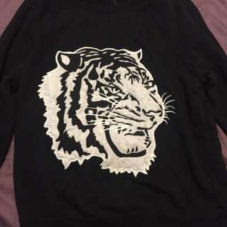 Garage Tiger Sweater