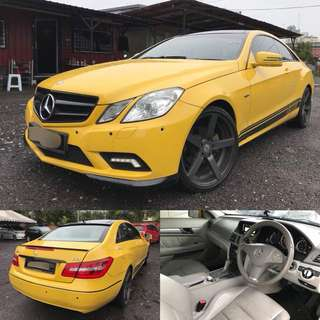 SAMBUNG BAYAR / CONTINUE LOAN  *MERCEDES E250 COUPE*