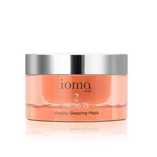 Ioma Paris Vitality Sleeping Mask, 50ml (Ideal Valentine's Day Present)