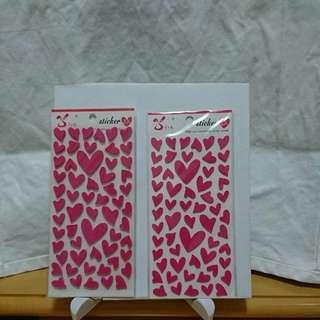 裝飾贴紙(立體),每包兩張