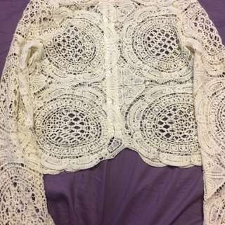 Hot Miami styles Lace Shirt