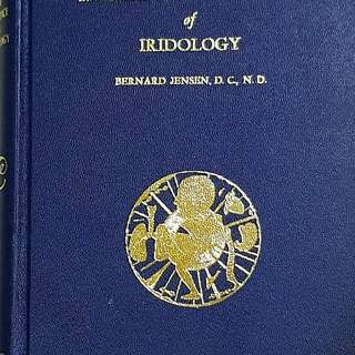 The Science and Practice of Iridology by: Bernard Jensen, D.C, N.D. This is a must book for anyone looking into various symptoms through the eyes and Caring the body through the use of Drugless and nature-care methods.