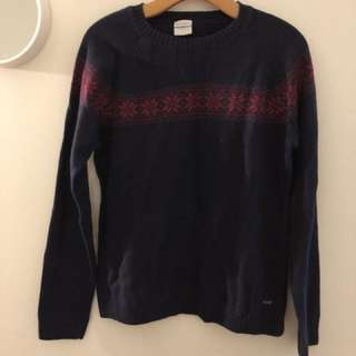 columbia dark purple sweater
