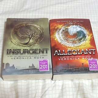 Divergent series - Insurgent and Allegiant