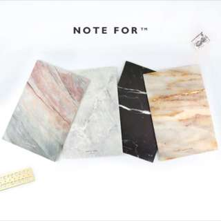(PO) Marble notebooks