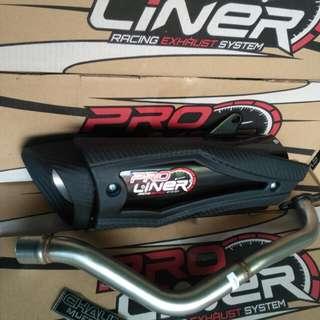 Knalpot PROLINER nmax Aerox type Pro Sv