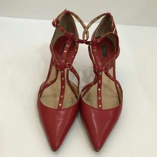 MNG Red Shoes