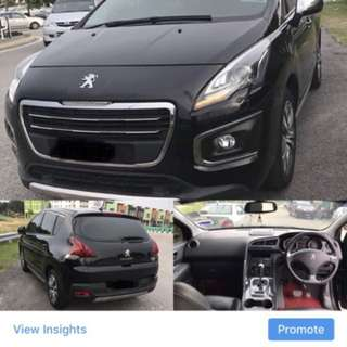 SAMBUNG BAYAR / CONTINUE LOAN *PEUGEOUT 3008 1.6 TURBO*