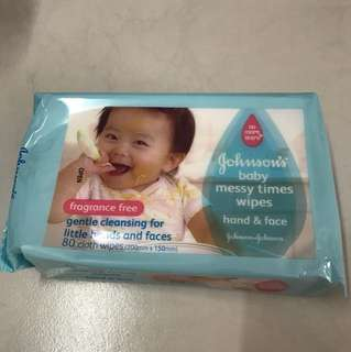 Baby Wipes Johnson's Wipes