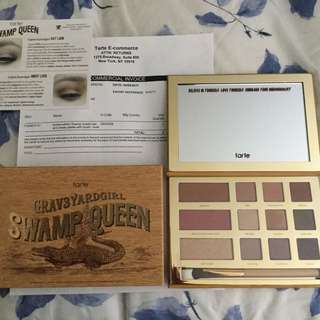 Tarte 'Swamp Queen' Grav3yardgirl Eye & Cheek Palette