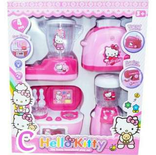 4 in 1 Hello Kitty Kitchen simulation toy