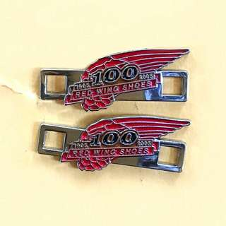PREORDER;100th YRS ANNIV. RED WING® SHOES LACE BUCKLES