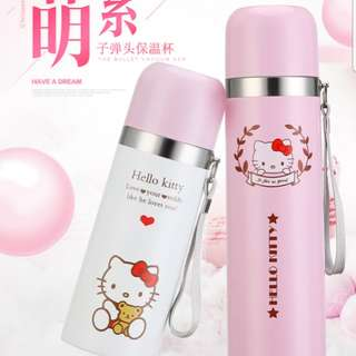 Hello Kitty Thermal Flask in Pink (500ml)
