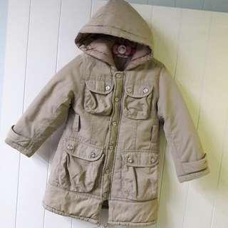 女童保暖厚外套🎀100公分