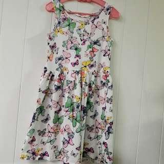 H&M女童棉質洋裝